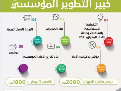 برنامج خبير التطوير المؤسسي 3
